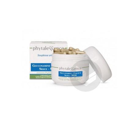 Glucosamine Calcium Silice MSM 30 gélules