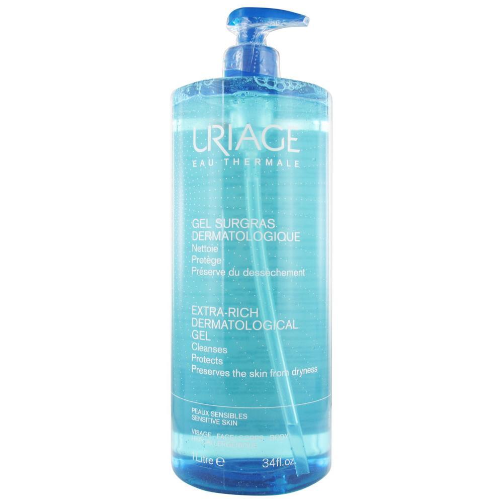 Surgras Liquide Dermatologique Gel Sans Savon Fl Pompe 1 L