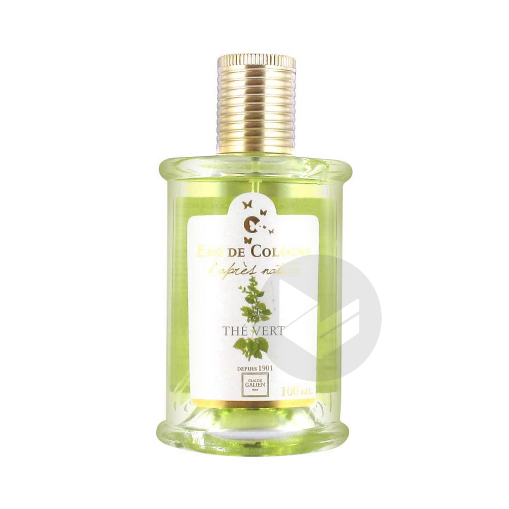 Eau De Cologne D Apres Nature The Vert 100 Ml