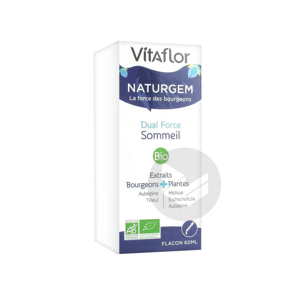 Vitaflor Naturgem Dual Force Sommeil Bio 60 ml