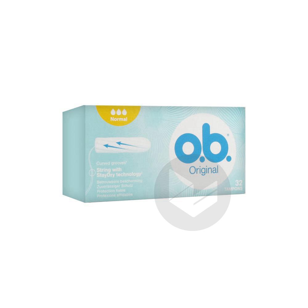 O B Original 32 Tampons Normal