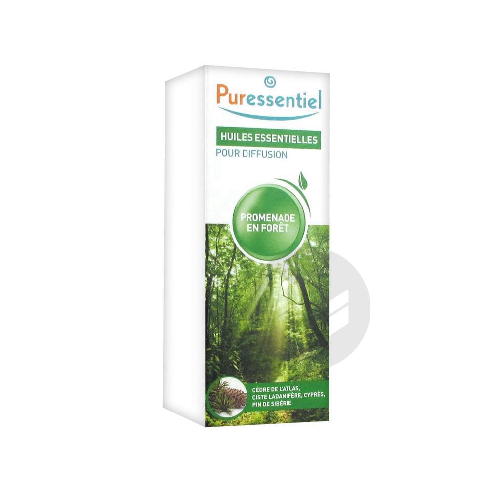 PURESSENTIEL DIFFUSION Huile essentielle diffuse promenade en forêt Fl/30ml