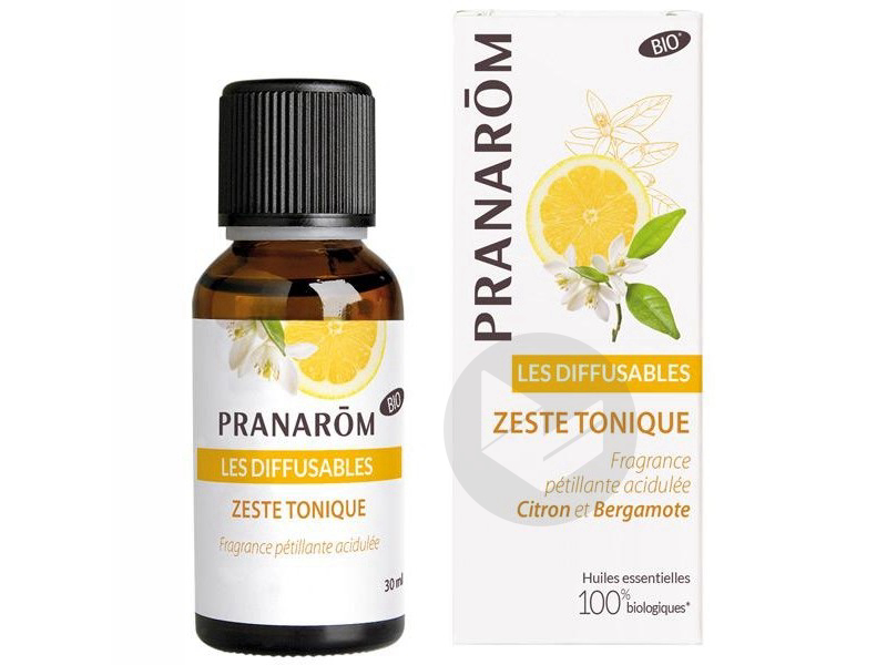 Pranarom Zeste Tonique Bio 30 Ml