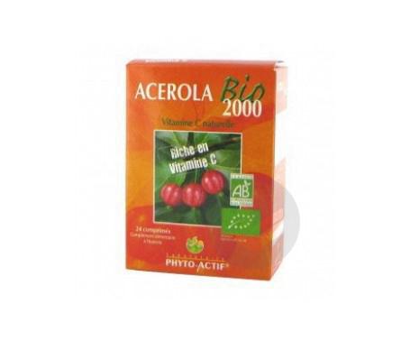 Acérola Bio 2000 - 24 comprimés