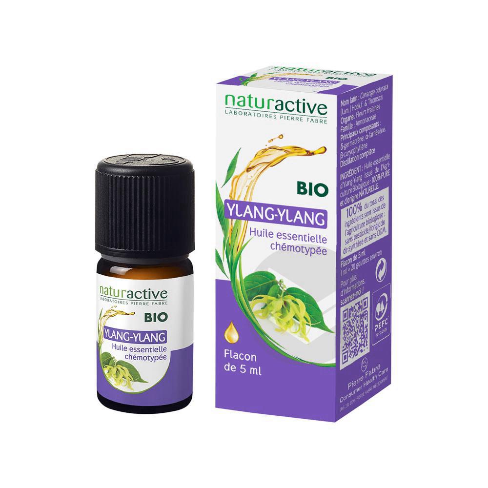 Huile essentielle bio Ylang-ylang 5ml