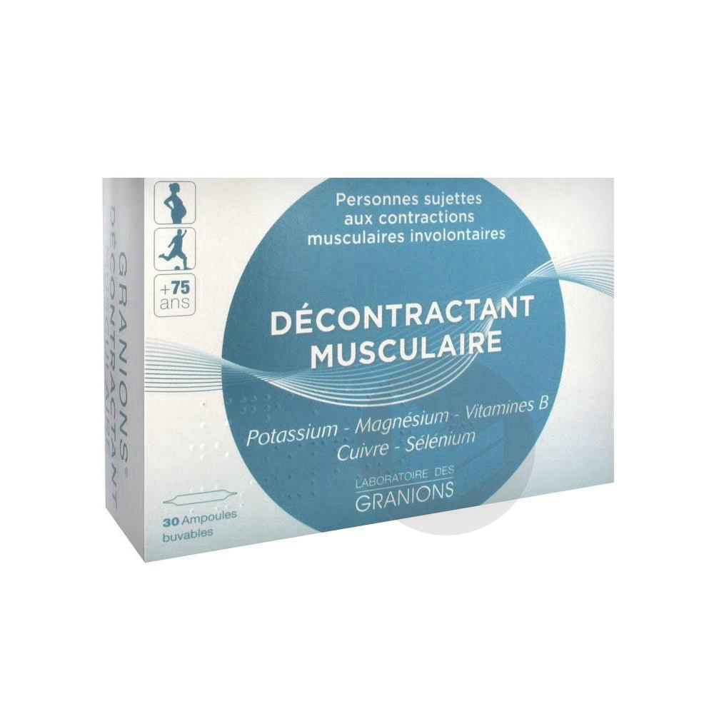 Decontractant Musculaire S Buv 30 Amp 2 Ml
