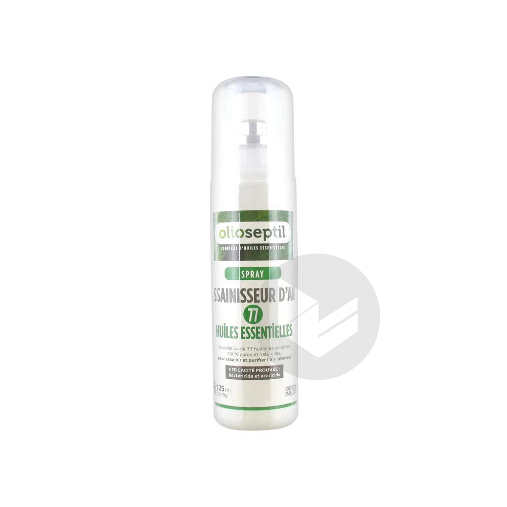 Spray Bio 77 Huiles Essentielles Assainisseur Dair 125 Ml