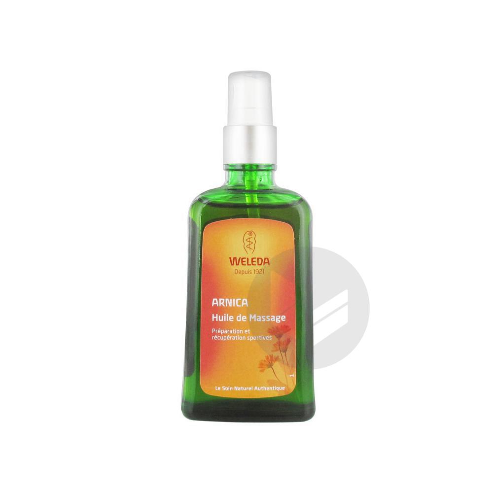 WELEDA SOINS CORPS Huile de massage Arnica Fl pompe/100ml