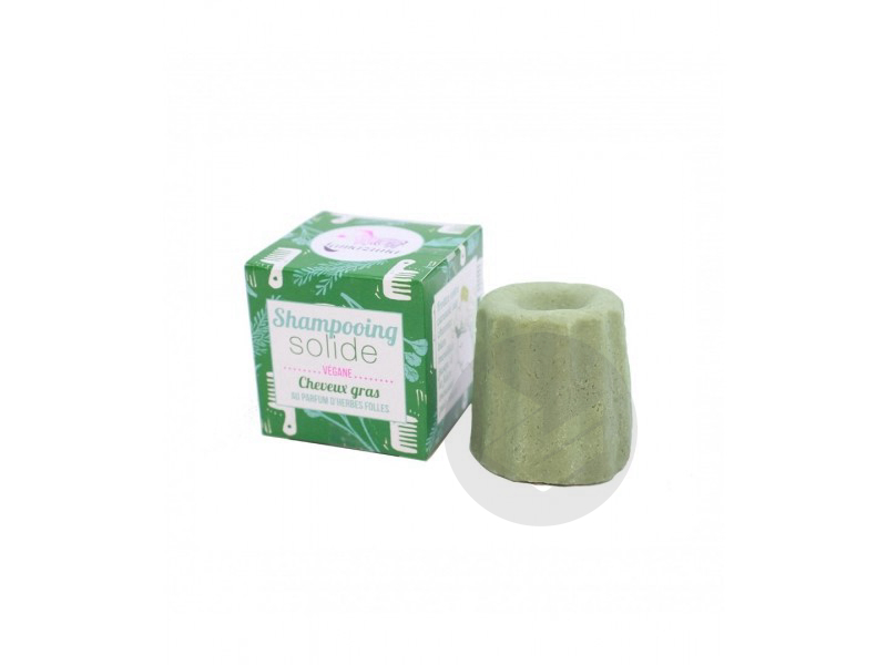 Shampoing Solide Cheveux Gras Herbes Folles 55 G