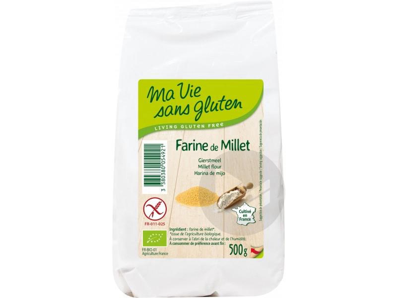 Farine de millet Bio - 500 g '