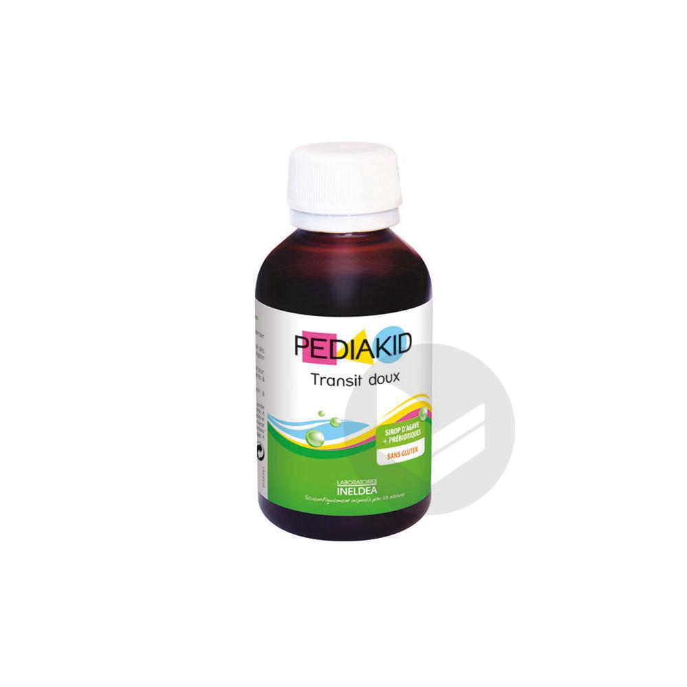 PEDIAKID TRANSIT DOUX Sirop pomme Fl/125ml