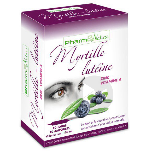 Myrtille Lutéine - 10 ampoules