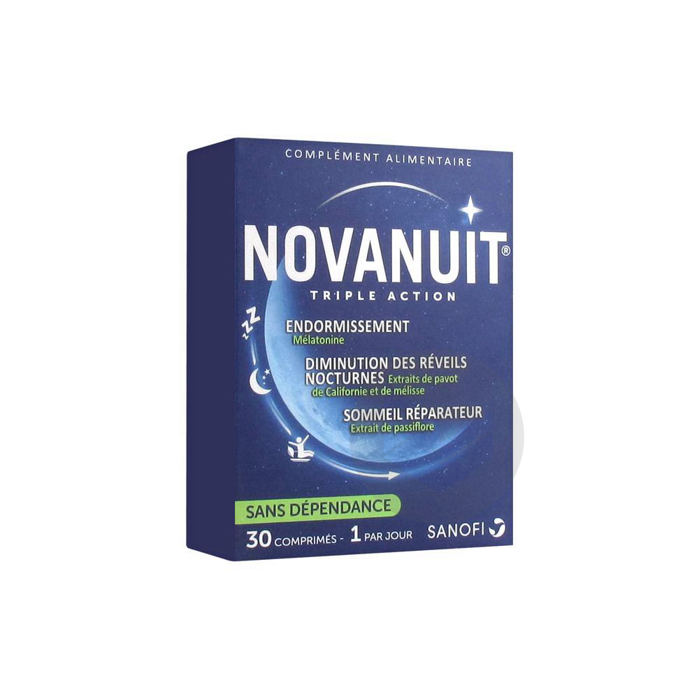 Novanuit Triple Action 30 Comprimes