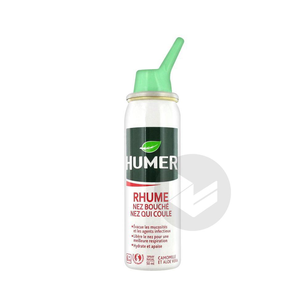 Rhume Nez Bouche Nez Qui Coule Spray Nasal 50 Ml