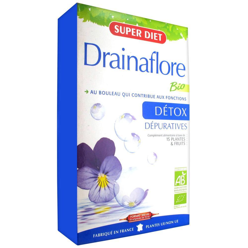 DRAINAFLORE BIO S buv cure dépurative 20Amp/15ml
