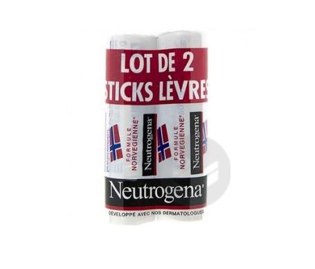 Stick Lèvres Formule Norvégienne Lot de 2 Stick 4.8 g