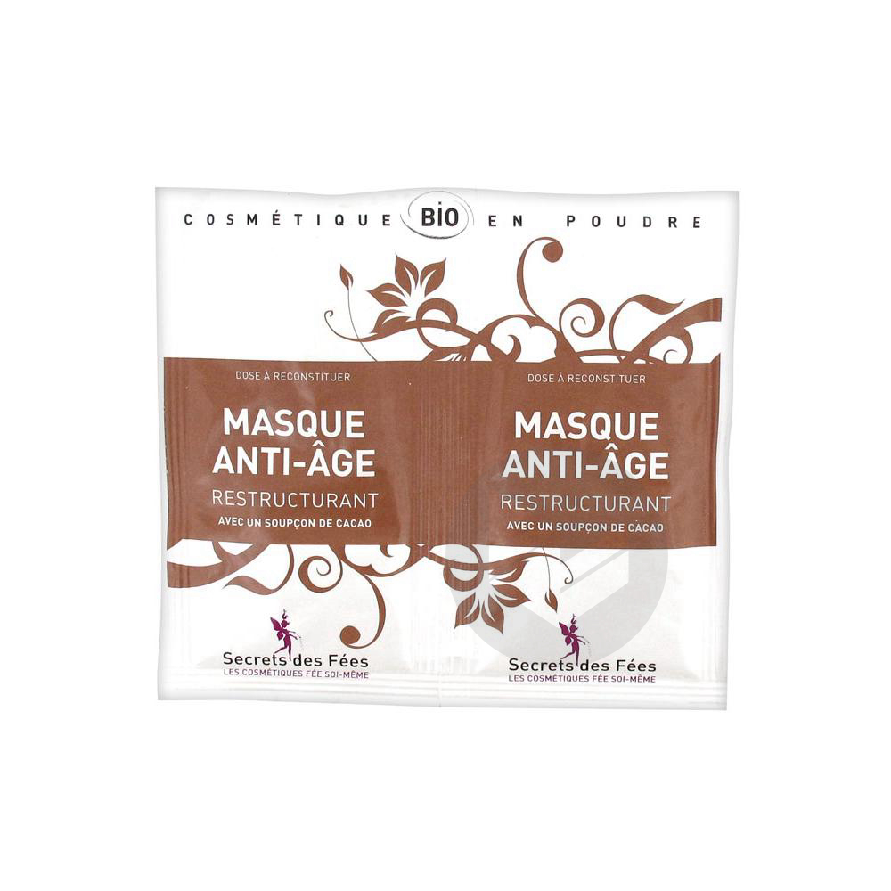 Secrets Des Fees Masque Anti Age Restructurant 2 X 4 5 G