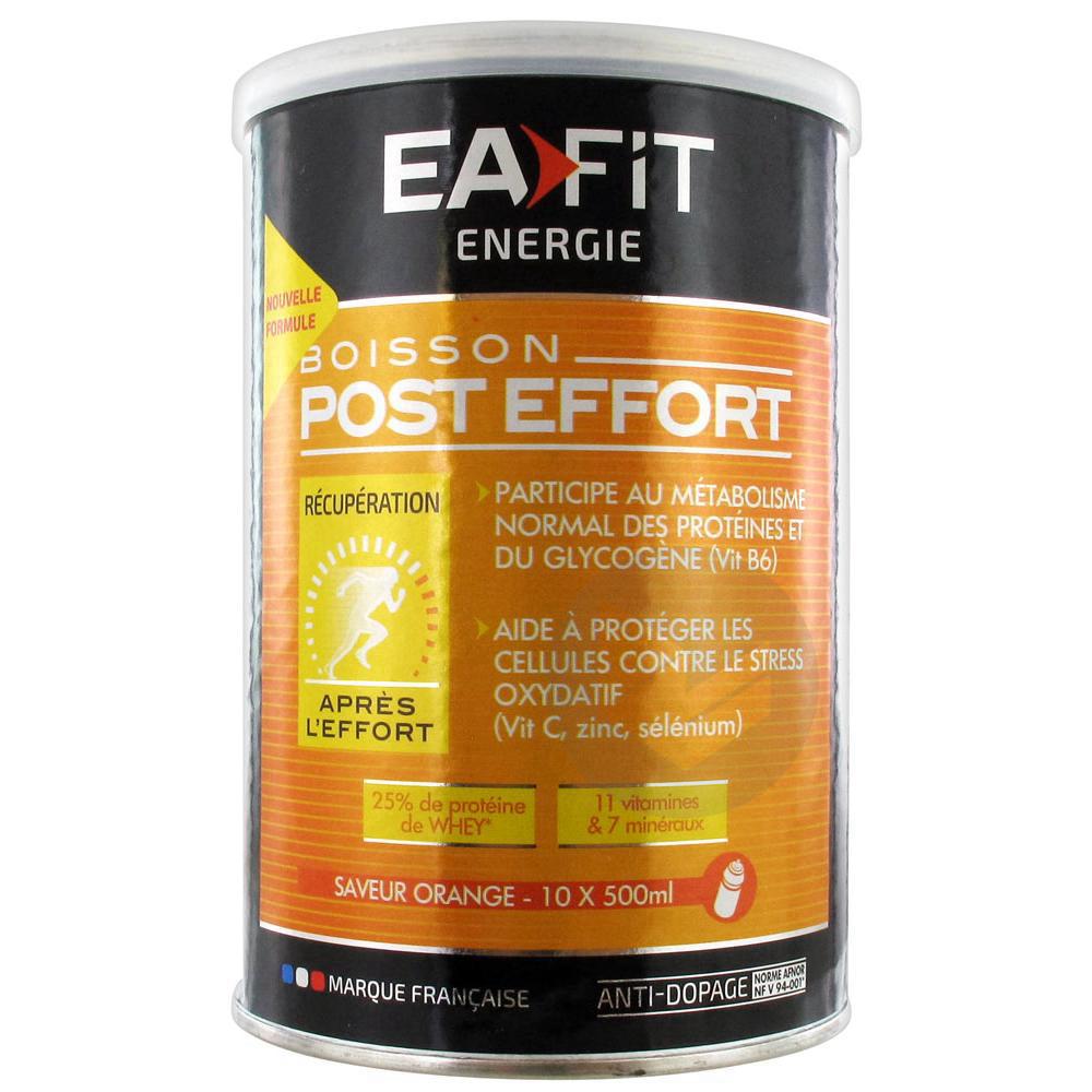 Energie Pdr Pour Boisson Orange Post Effort Pot 457 G