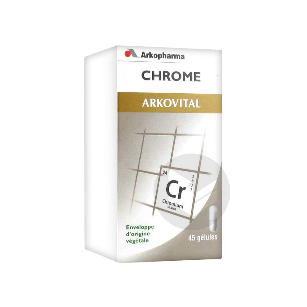 Arkovital Chrome Gel Fl 45