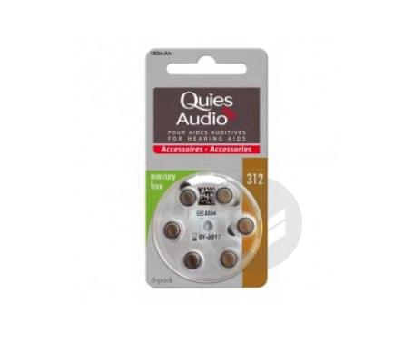Audio Piles Modele 312 6 Piles