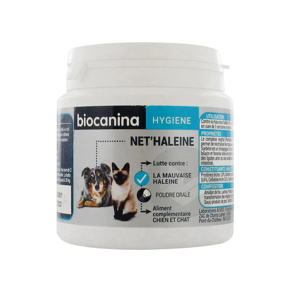 Nethaleine Pdr Or Appetente Chien Chat Pot 85 G