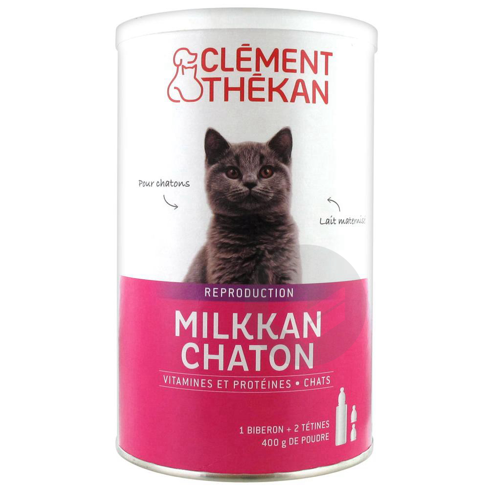 Clement Thekan Milkkan Chaton 400 G