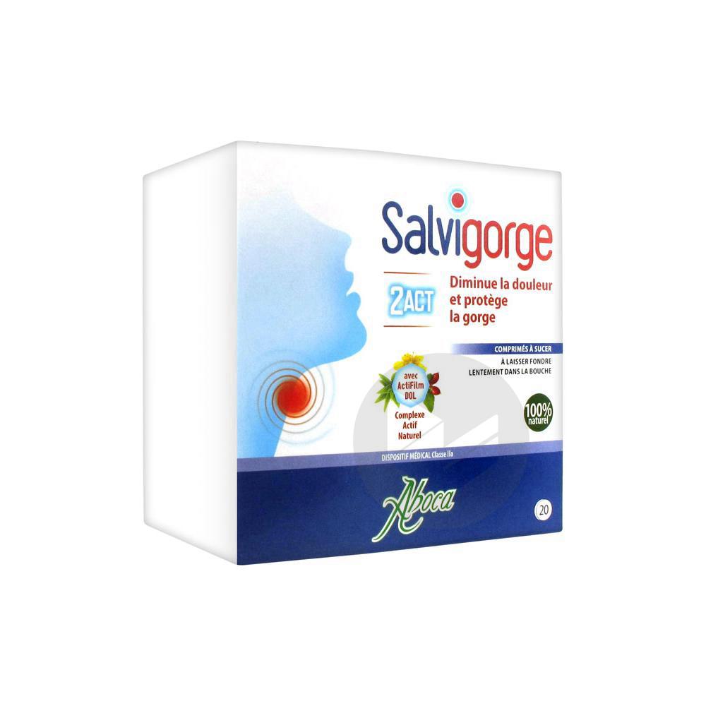 Salvigorge 2 Act 20 Comprimes