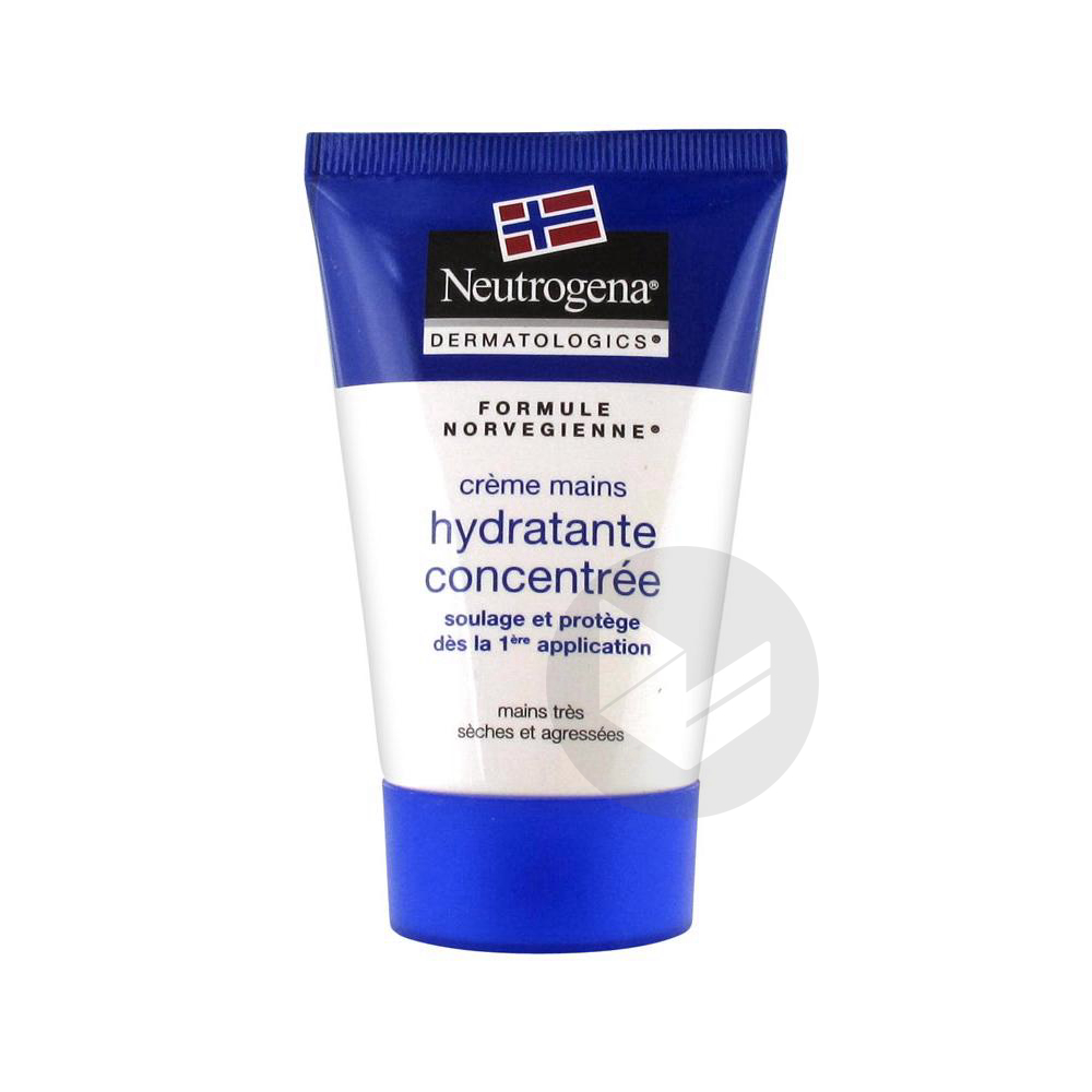 Cr Mains Hydratante Concentree T 50 Ml