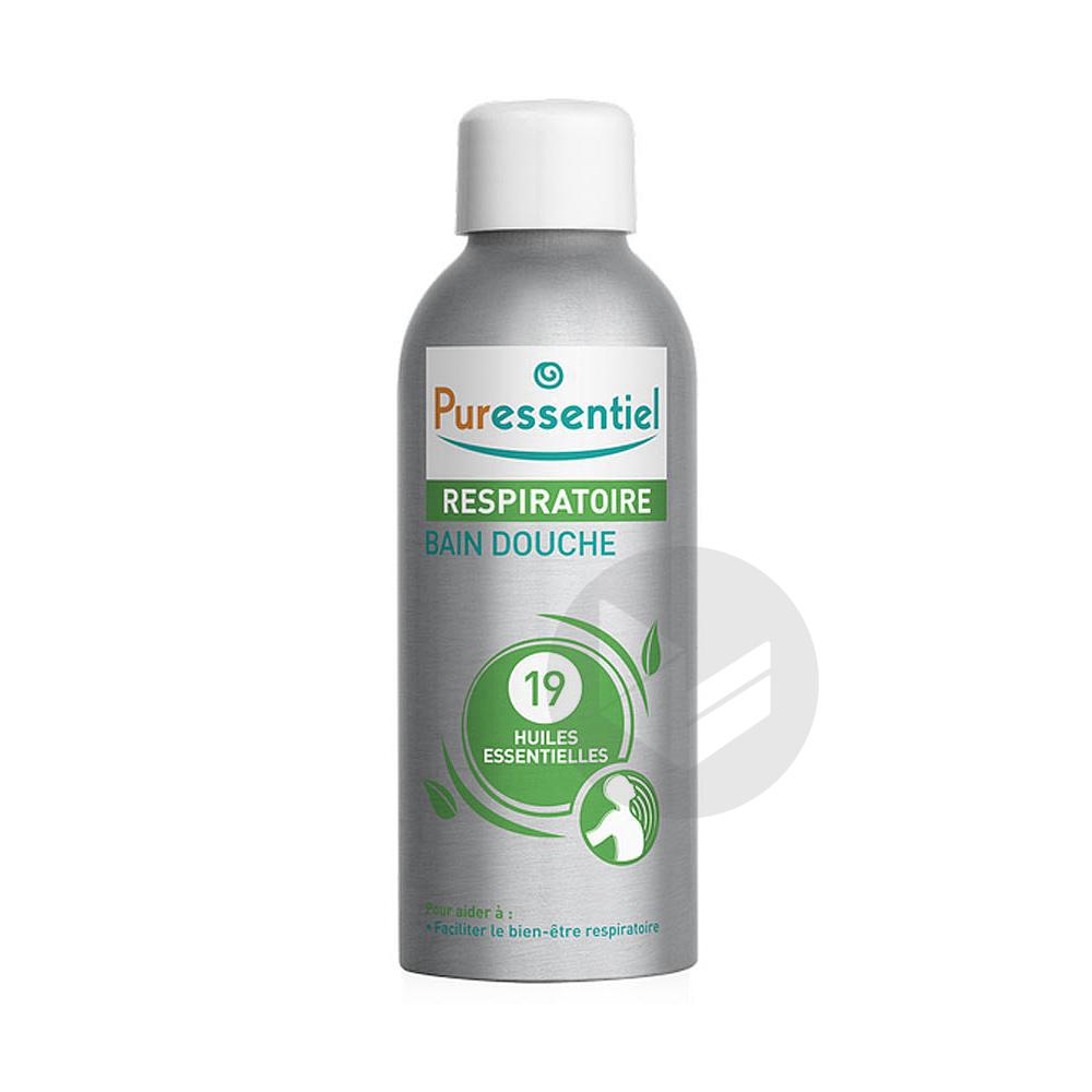 PURESSENTIEL RESPIRATOIRE Bain douche 19 huiles essentielles Fl/100ml