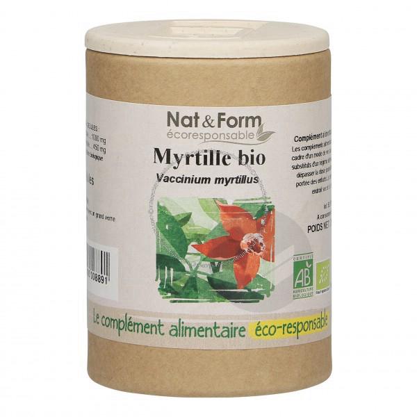 Myrtille Bio Eco Responsable - 90 gélules