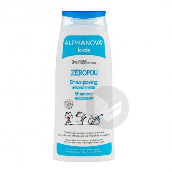 ALPHANOVA KIDS ZEROPOU Shampooing Fl/200ml