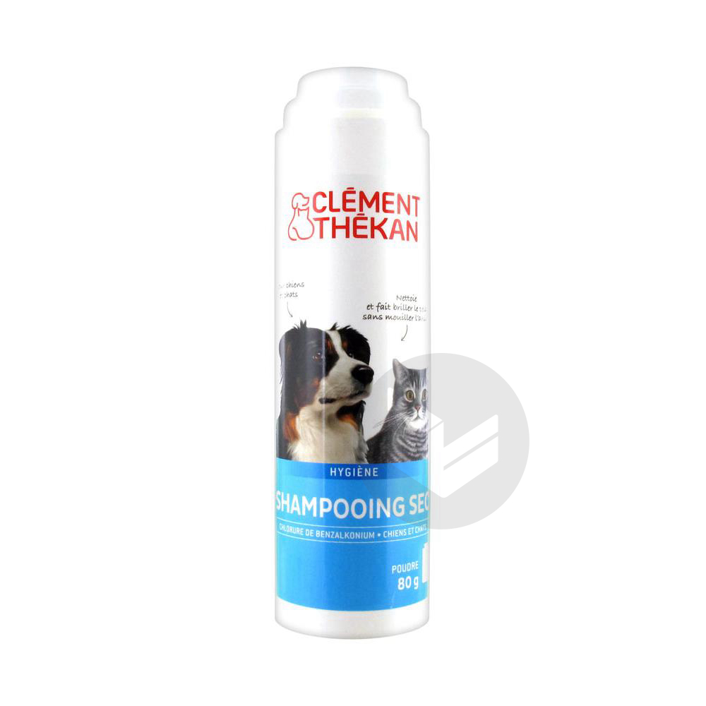 THEKAN Shampooing sec chat/chien Fl/80g