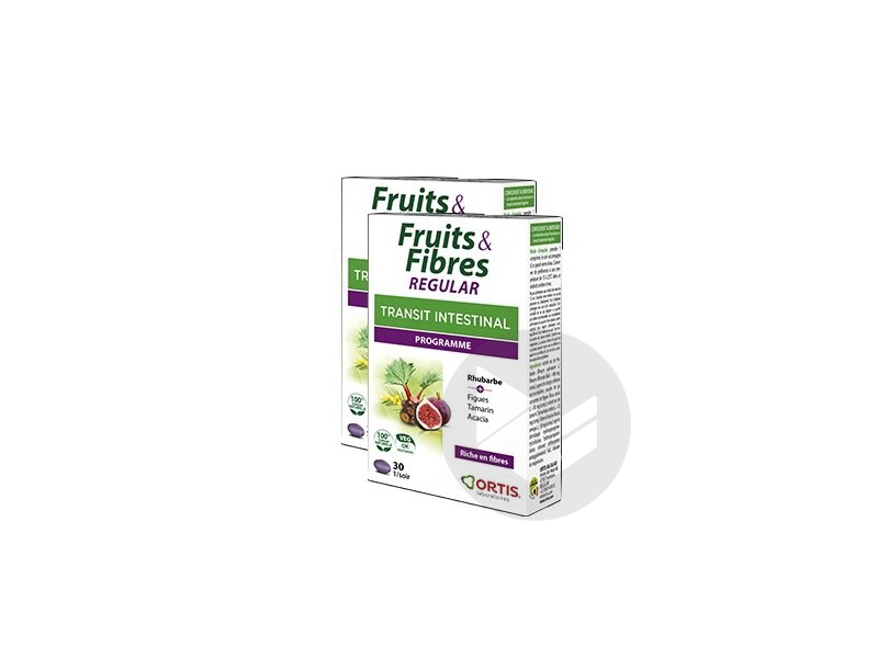 Fruits Fibres Regular 2 X 30 Comprimes