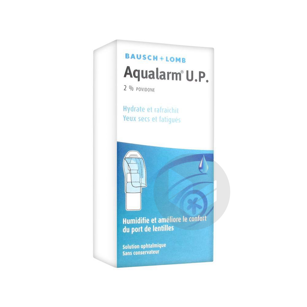 Aqualarm Up 2 S Ophtalm Lubrifiante Humidifiante Fl 10 Ml