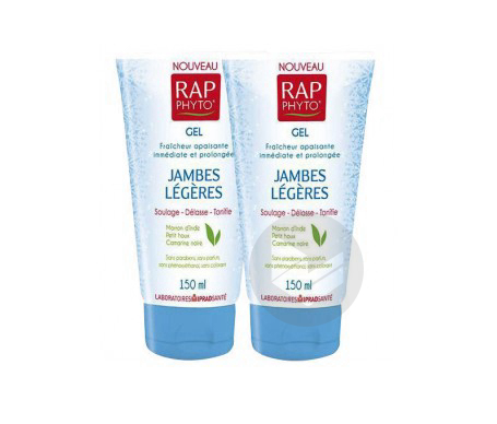 Rap Phyto Gel Jambes Legeres 150 Ml Lot De 2