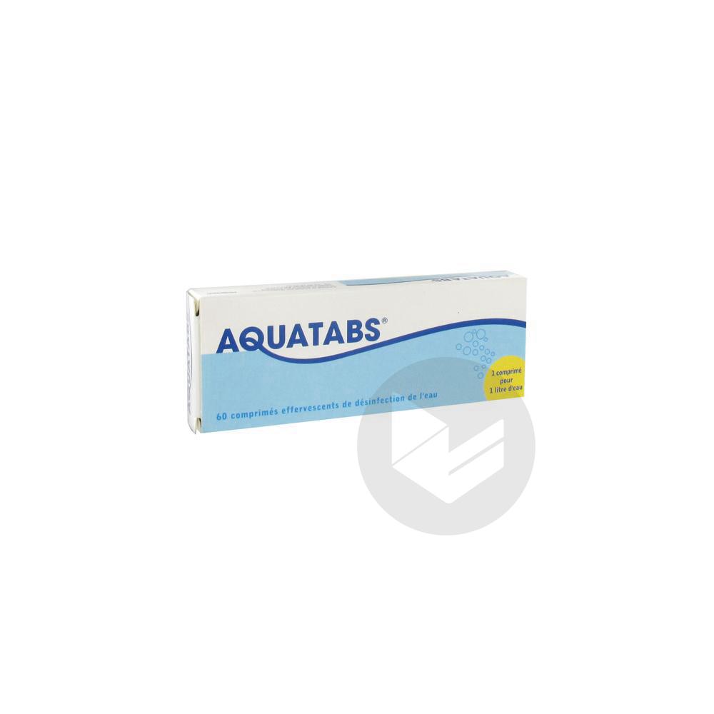 Aquatabs 1 Cpr Litre Cpr Eff B 60