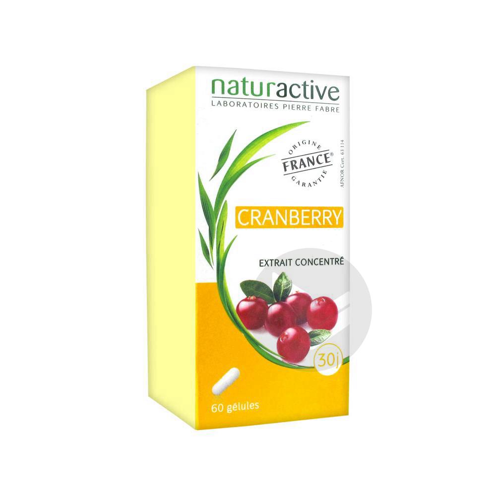 Phytotherapie Cranberry Gel Pilulier 60