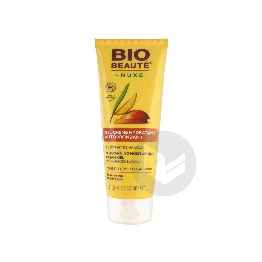 Bio Beaute By Gel Creme Hydratant Autobronzant T 100 Ml