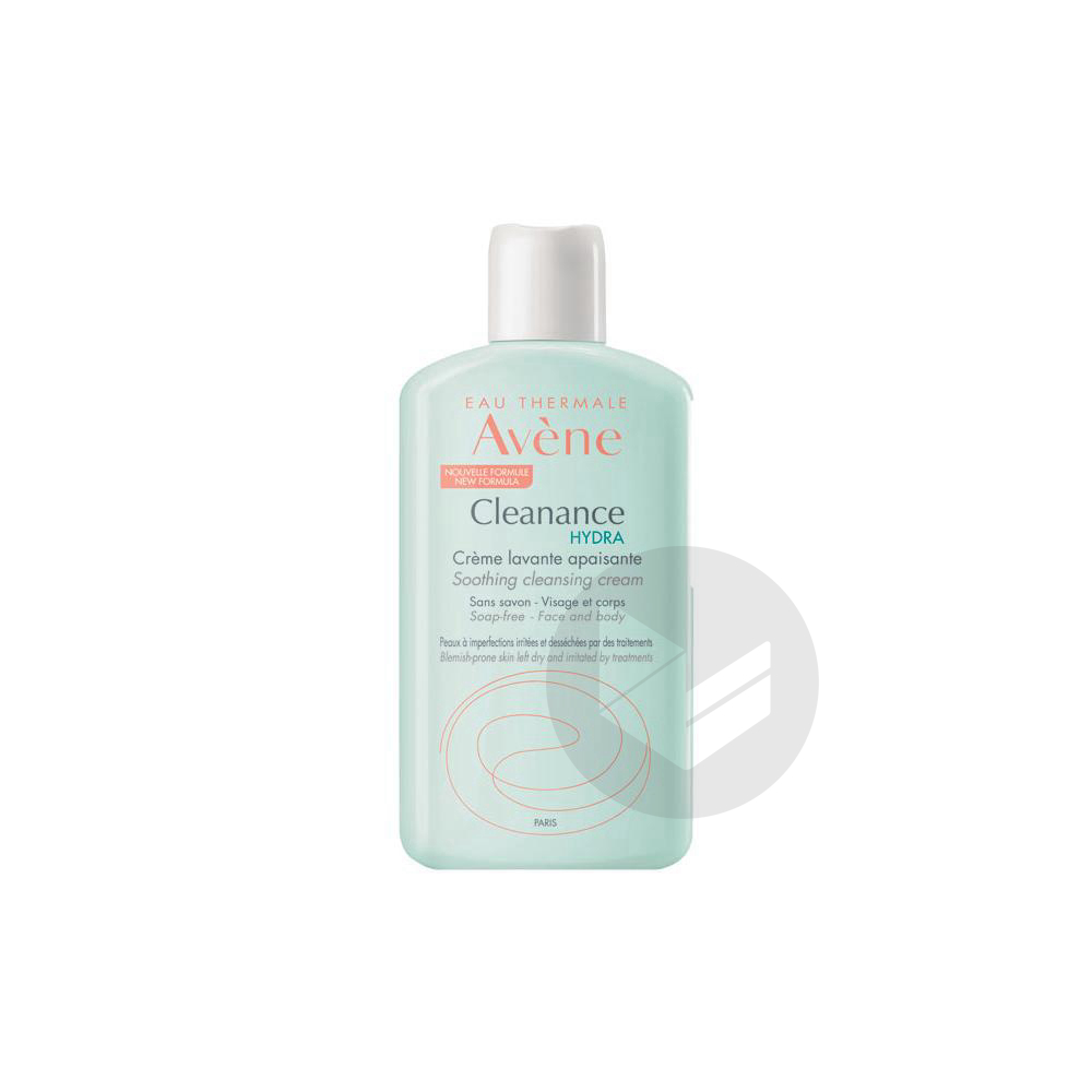 Avene Cleanance Hydra Creme Lavante Apaisante 200 Ml