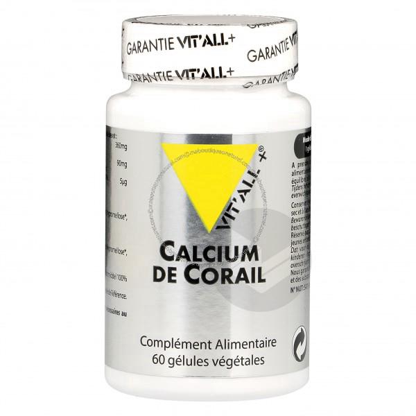 Calcium de corail - 60 gélules