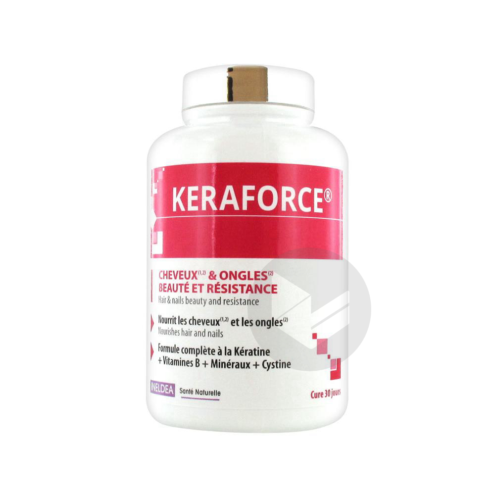 Keraforce 90 Gelules Vegetales