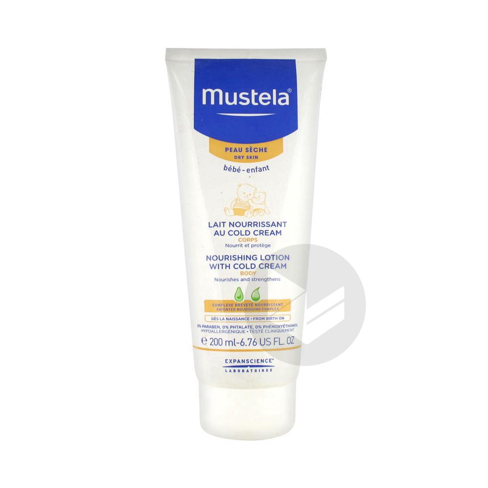 Mustela Bebe Enfant Lait Nourrissant Cold Cream T 200 Ml