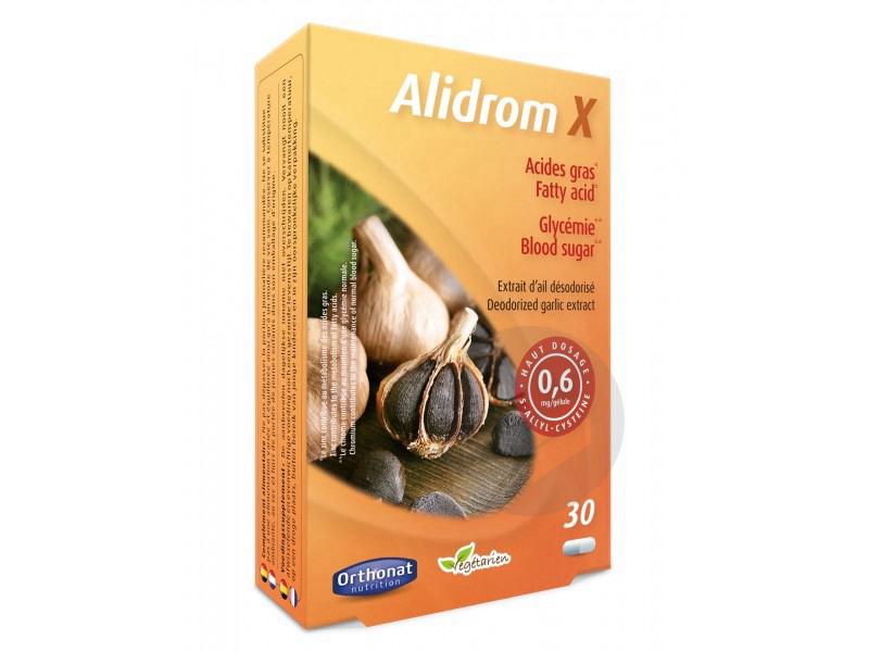 Alidrom X ail désodorisé - 30 gélules