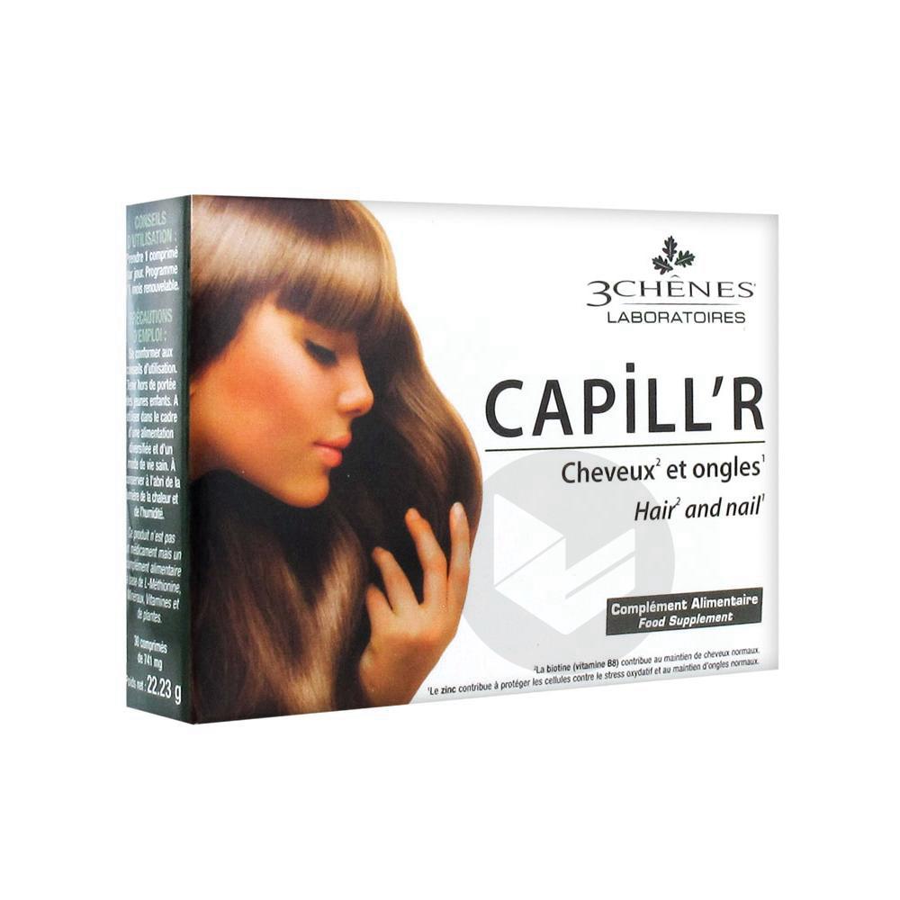 Capillr Cpr Cheveux Et Ongles B 30