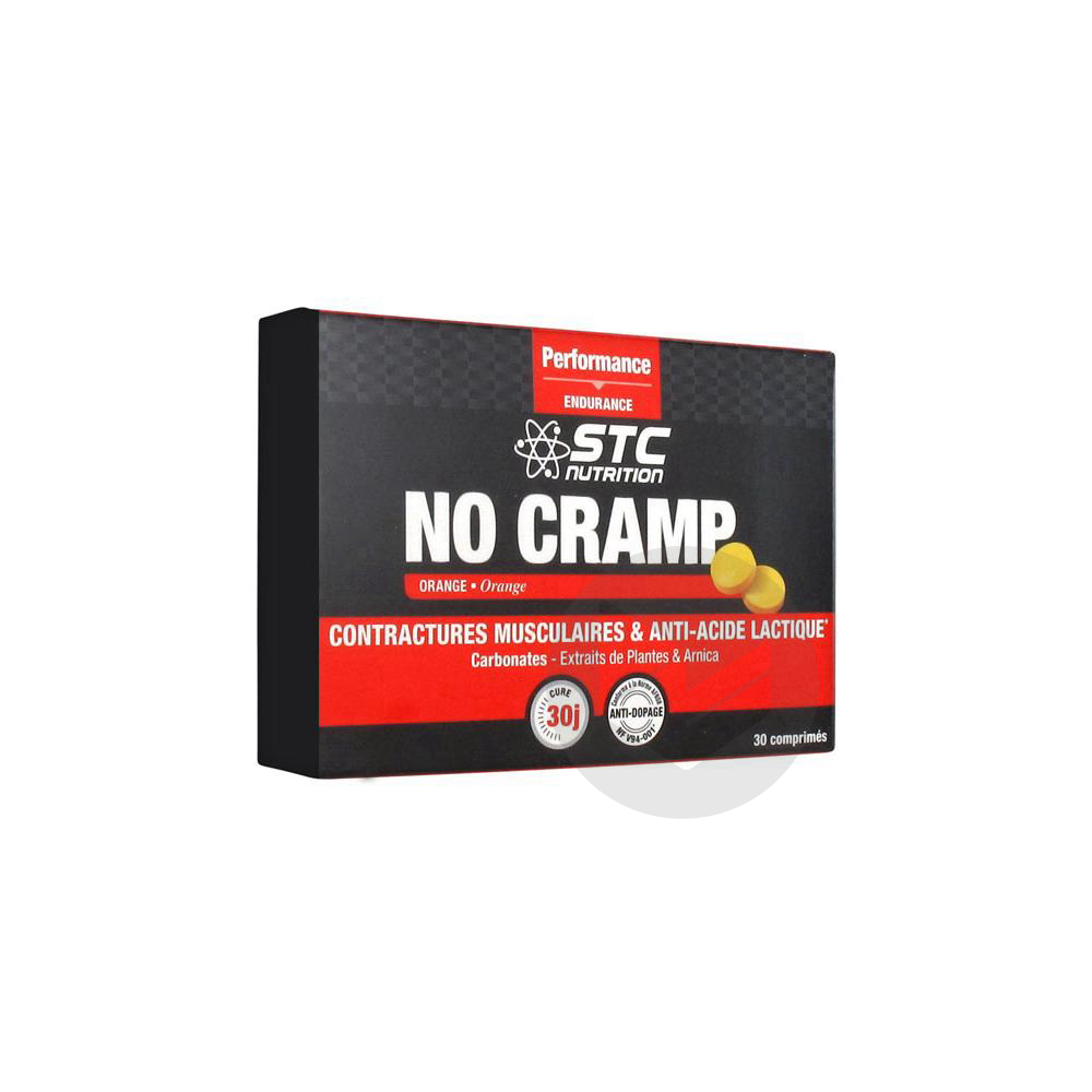 No Cramp Cpr A Croquer Orange B 30