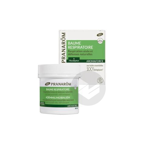 Aromaforce Bme Respiratoire Bio Pot 80 G