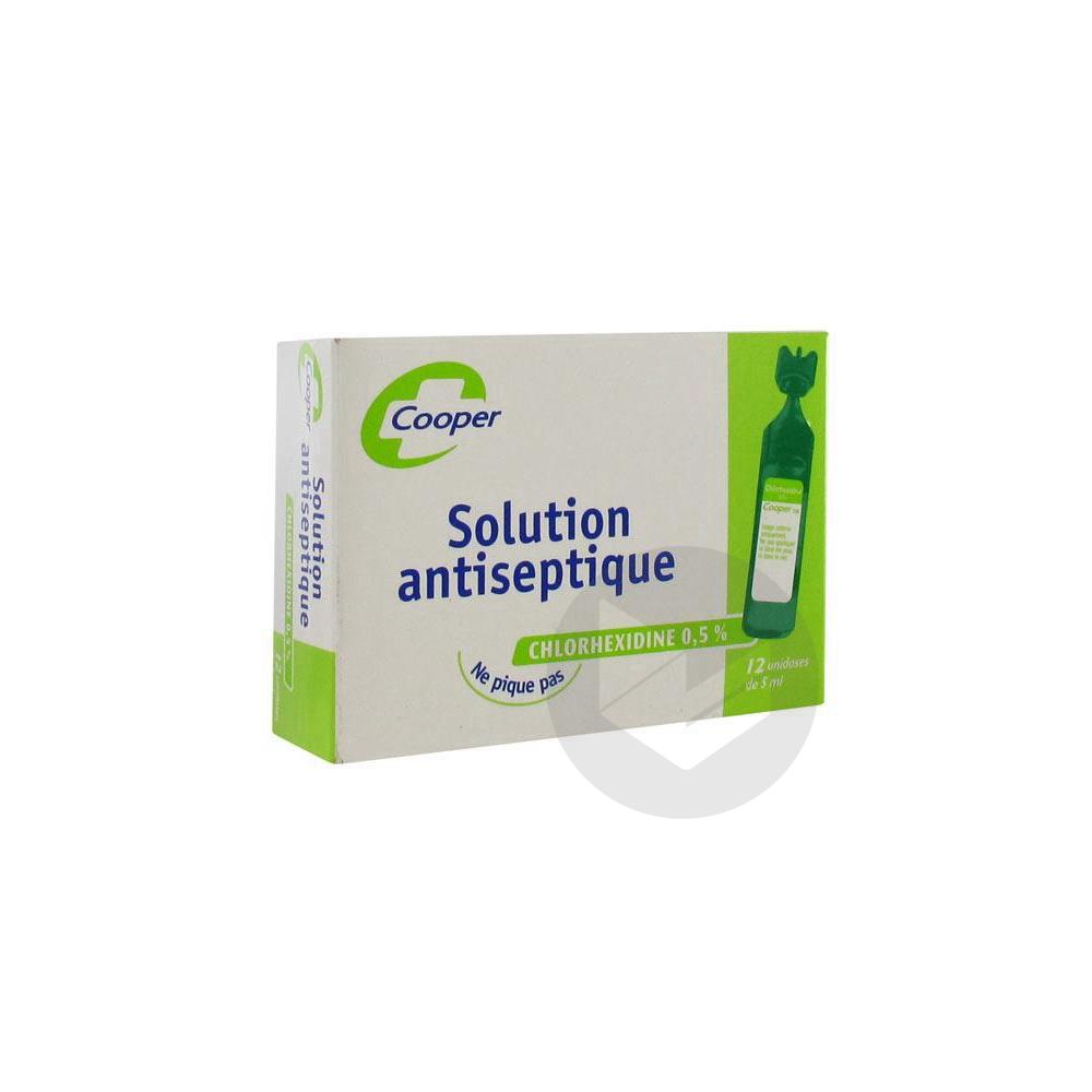 Chlorhexidine 0 5 S Appl Cut 12 Unidoses 5 Ml