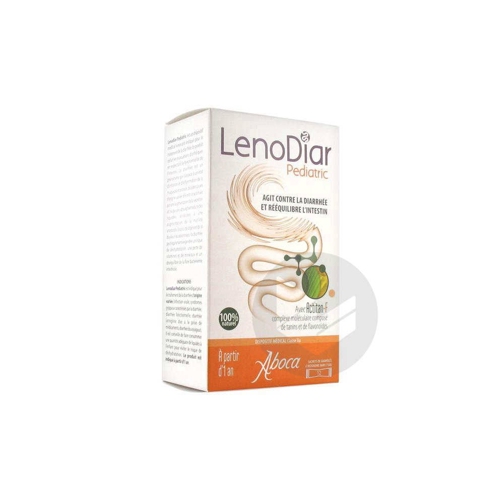 Lenodiar Pediatric 12 Sachets