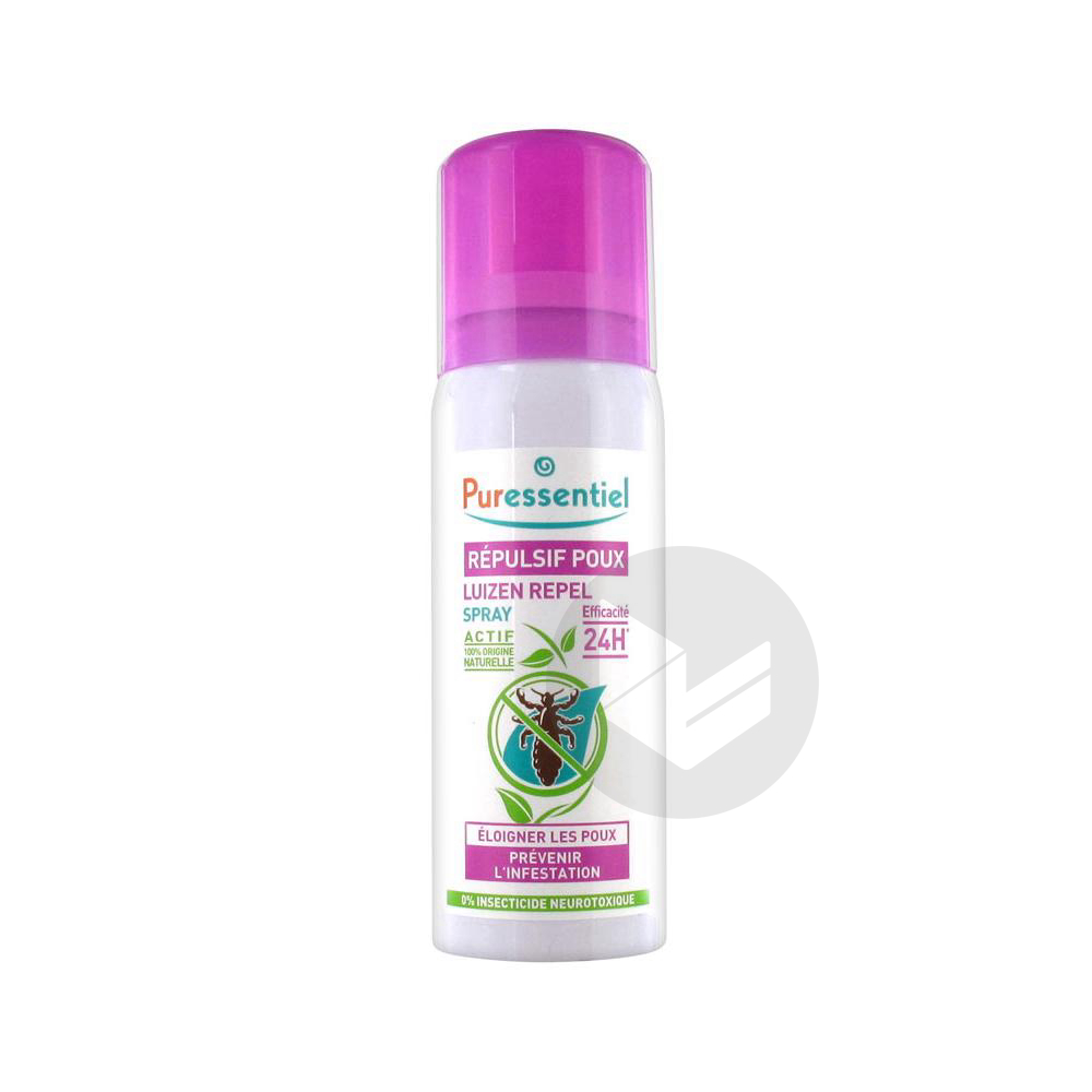 Anti Poux Spray Repulsif Fl 75 Ml