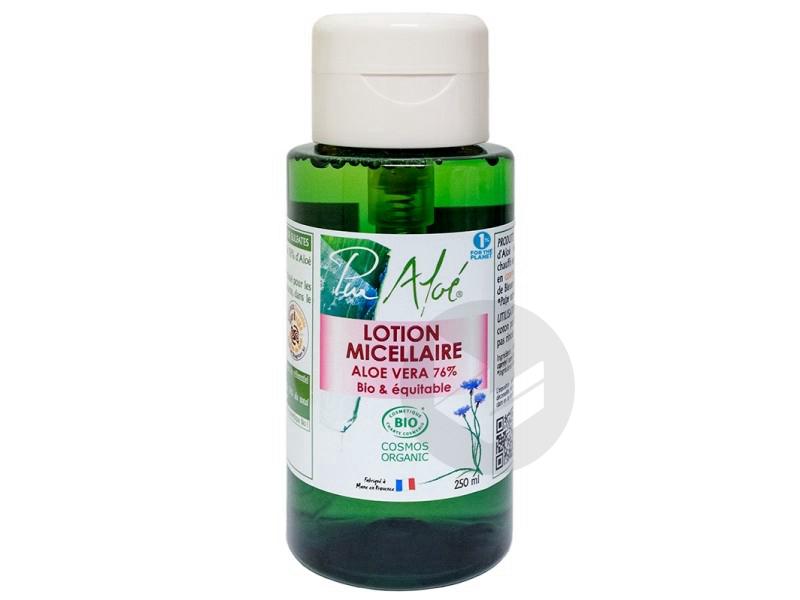 Pur Aloé Lotion Micellaire à l'Aloe Vera 76% Bio 250 ml